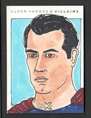 2019 CZX Super Heroes and Super-Villains Sketch Card Brandon Pyle 1/1