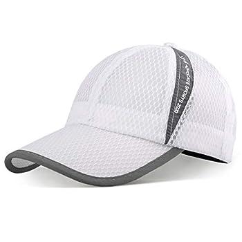 ELLEWIN Unisex Breathable Quick Dry Mesh Baseball Cap Sun Hat Tennis Cap
