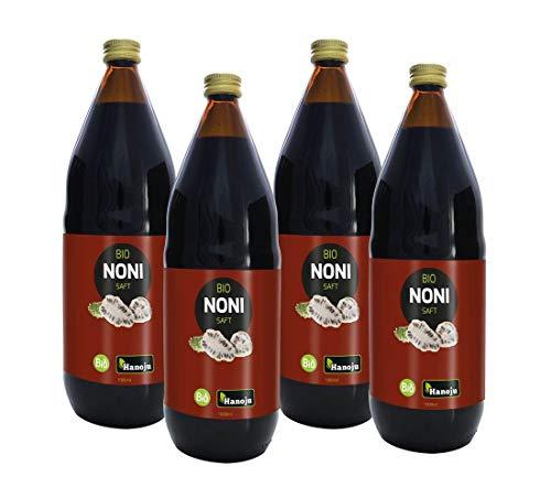 Bio Noni Direktsaft aus kontrolliert biologischem Anbau 4x1000 ml