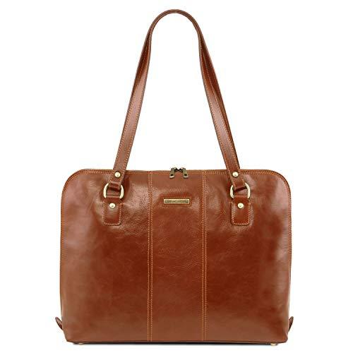 Tuscany Leather Ravenna dames zakje van leer - TL141795, honing (meerkleurig) - TL141795