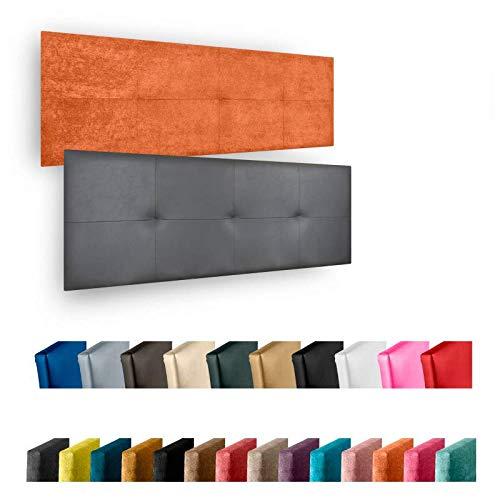 Cabecero de Cama Modelo CÁCERES tapizado en Polipiel Azahar.para Cama de 135 (Medidas 145x50x5).Color Beige.Pro Elite.