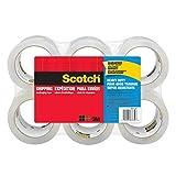 3M スコッチ ガムテープ 梱包テープ 重量物用 48mm×50m 6巻パック 3850-6-ESF
