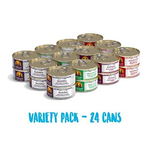 Weruva Classic Dog Food, Variety Pack, Chicken Free, Just 4 Me,...