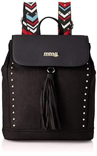 MTNG Mauri, Bolso mochila para Mujer, Negro (Antel/Liso Neg), 14x31x26 cm (W x H x L) (Zapatos)