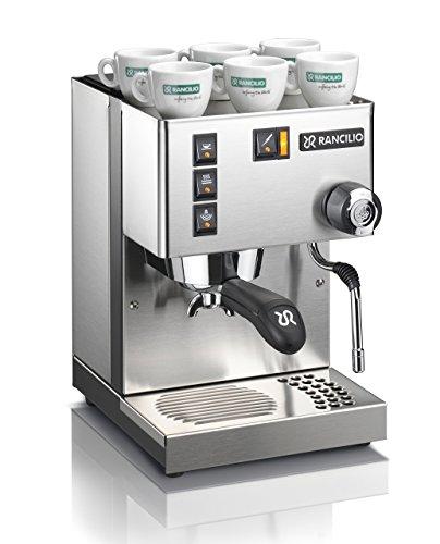 Rancilio Silvia - Cafetera espresso, color plateado