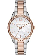 Michael Kors Reloj Analógico para Mujer de Cuarzo con Correa en Acero Inoxidable MK6849