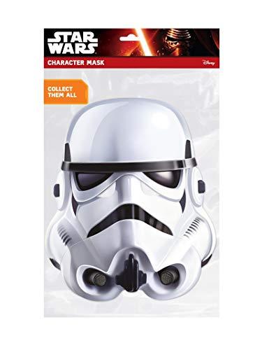 Rubie's STAR WARS Maske Stormtrooper, 332412, Weiß