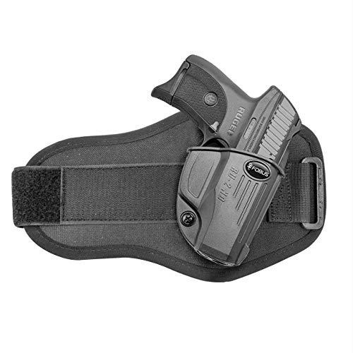 Fobus Ec9S/Lc380/Lc9/Lc9S Pro Evolution Ankle Holster Ruger, Black, (Model: RU2NDA)
