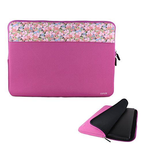 kangzhi Conze 9 inch Tablet Neoprene Sleeve Protective Case Pouch Cover/Briefcase Carrying Bag fits Amazon Fire HD 10 (2017),Vodafone Smart Tab N8 in Pink