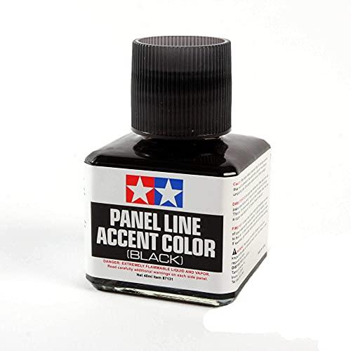 TAMIYA 87131 Panel Line Accent Color Black For Plastic Model Kit