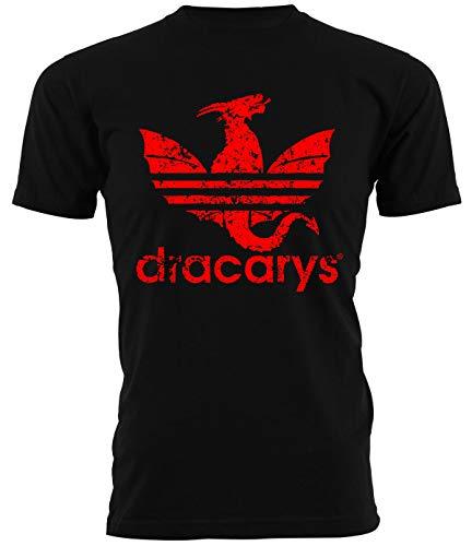 Tshirt Game of Thrones Dracarys - Parody - Il Trono di Spade - Serie TV