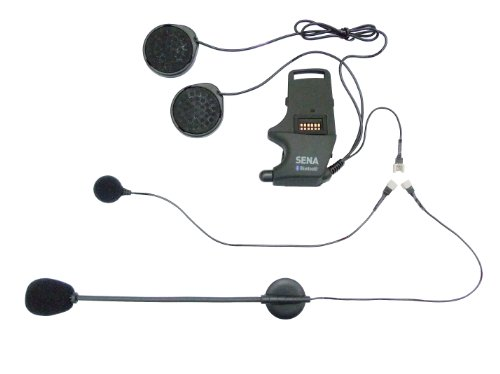 Sena SMH-A0302 Kit de Montaje Universal, Micrófono con Brazo Acoplable y Micrófono con Cable
