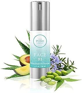 Anti-aging100% Natural NIACINAMIDE Vitamin B3 Cream Serum 5% ORGANIC INGREDIENTS Boosts collagen, Tighten pores, Deep moisturizing, Reduce wrinkles, helps Repair sun damage for radiant & younger skin