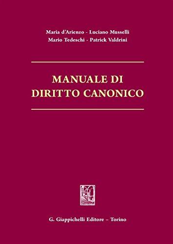 Manuale di diritto canonico