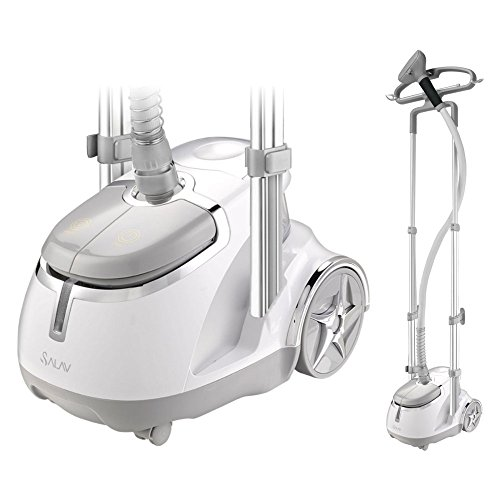 Best Deals! SALAV GS45-DJ Black Professional Series Dual bar Garment Steamer with Foot Pedals, GS45-...