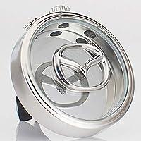 VILLSION 車のロゴの芳香剤の拡散器のエアコンコンセント空気香水のアロマセラピーの拡散器臭気を取り除く アクセサリーマツダ適合(Mazda)