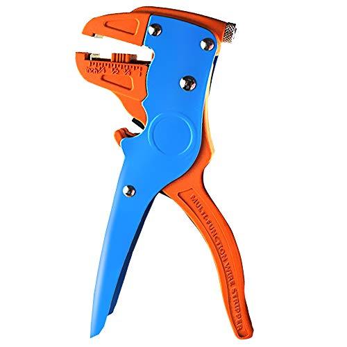 Pelacables automático y cortador, herramienta para pelar cables 2 en 1 para reparaciones electrónicas y automotrices