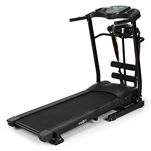 Klarfit Treado Advanced Laufband, Hometrainer, Trainingscomputer, zusammenklappbar