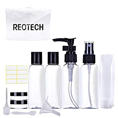 Amazon - Save 50%: Travel Bottles TSA Approved Empty Size – Leak-Proof Refillable and…