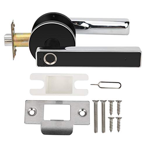 Charging Doorlock Keyless Door Lock, Fingerprint Lock, for -Theft Home School Locker Smart Security