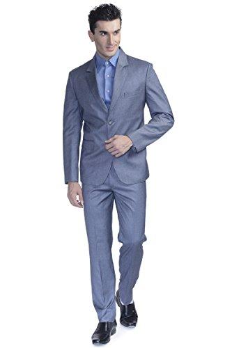 INMONARCH Mens Sharkskin 4 Pc Jodhpuri Suit Hand Work JO0313L42 42 Long Sharkskin