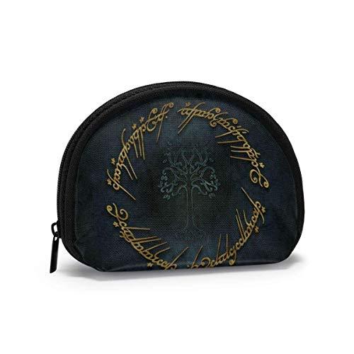 Lord Anillos Carteras para Mujer Monedero Bolsa de Almacenamiento de Concha Moda Mujer Bolso multifunción Bolsas de cosméticos portátiles Cartera