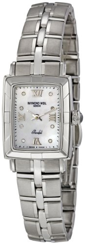 Raymond Weil Reloj de Mujer 9741-ST-00995 con Esfera Blanca