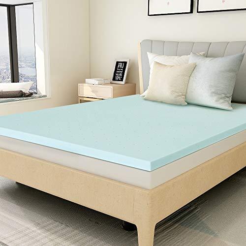Milemont Queen Mattress Topper, Gel Memory Foam Mattress Topper Pad for Queen Size Bed,1.5 inch