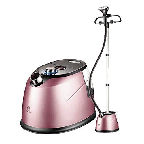 Vertical Steamers Dampfglätter Stand 2.3L Professional 2000W Garment Steamer Handgerät Bügeleisen 45s Fast Steam 8 Ordner Haushalt Mit Aufhänger,Pink
