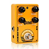 Super Overdrive Effects Pedal,Natural Overdrive Classic Tube Screamer Pedal Sound Processor Accessory for Guitar and Bass