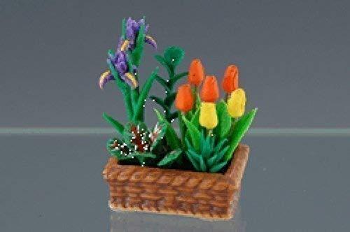 Creal 75755 Frühlingsblumen in Schale 1:12 für Puppenhaus