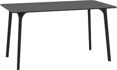 Loungitude Table, Noir, L140 x H75 x P80cm