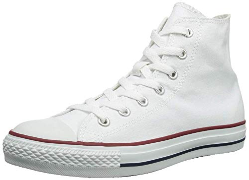 Converse Mens Chuck Taylor All Star High Top, 4 D(M) US, Optical White