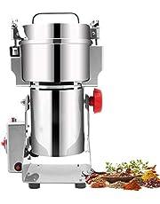 800G Electric Grain Slijpmachines Machine Van De Molen Voor Thuisgebruik, 304 Roestvrij Staal Grain Slijpmachine Voor Tarwe Granen, Commercial Poeder Machine,2400w