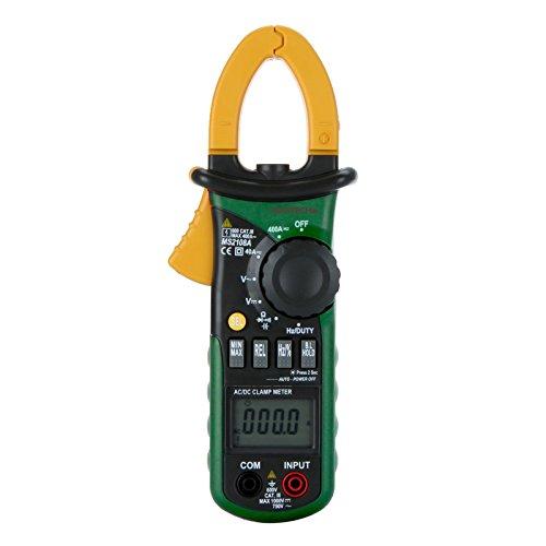 Mastech MS2108A Multimetro pinza digitale Frequenza max. / Valore minimo di misura Tenere di illuminazione lampada Borsa per il trasporto