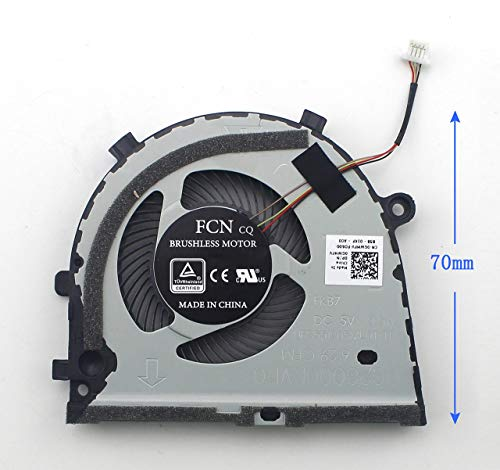 Laptop Cooling Fan for Dell inspiron Game G3-3579 G3-3779 G5 15 5587 0GWMFV