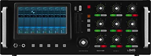 IMG STAGELINE DELTA-160R - Mesa de mezclas digital (16 canales), color negro