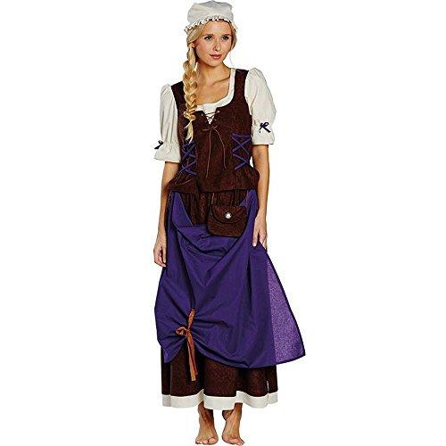 Kostüm Magd Hanna Gr. 36 - 48 Mittelalter Bäuerin Marketenderin KarnevalBayern (46)