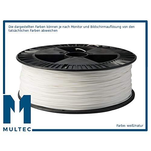 Filament Multi-HT - Résistant aux hautes températures - Diamètre : 2,85 mm., 3000g, Blanc., 1