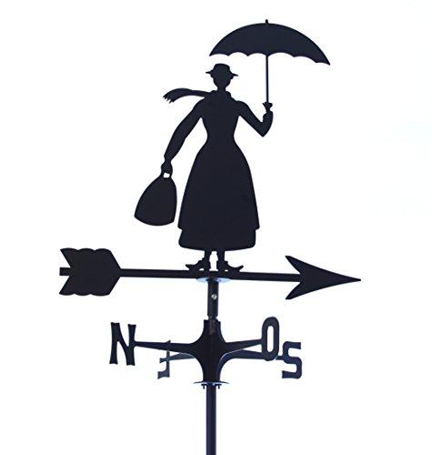 Cornali Banderuola segnavento segna Vento Mary Poppins. Prodotto artigianalmente in Italia.