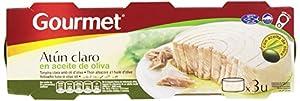 Tipo de producto: atún claro en aceite de oliva Peso: 155 gramos Viene en paquete de 3 x 52 g
