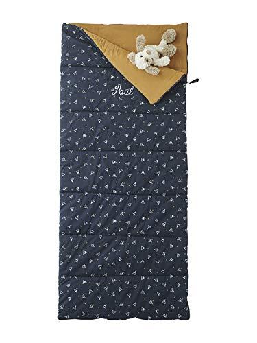 Vertbaudet Kinder-Schlafsack,Tipis Nachtblau Bedruckt ONE Size