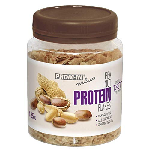 All Natural Peanut Protein Flakes by PROM-IN for Your Diet Strategy (135 g)