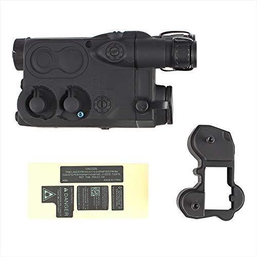 AIRSOFT DUMMY AN/PEQ16 BATTERY BOX CASE BLACK LIPO NIMH AEG RIS RAS RAIL PEQ 16 @ HELMET WORLD