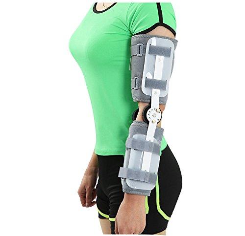 funwill Verstellbare Ellenbogengelenk-Bandage, korrigierende Orthese, zur Begrenzung von Armbrüchen