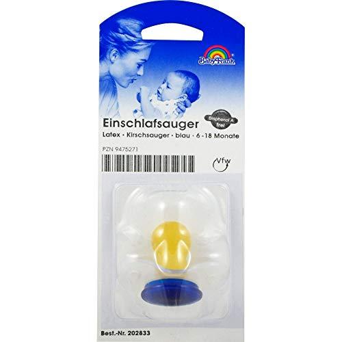 SAUGER Einschlaf Kirsche Latex o.Ring 6-18 M.blau 1 St
