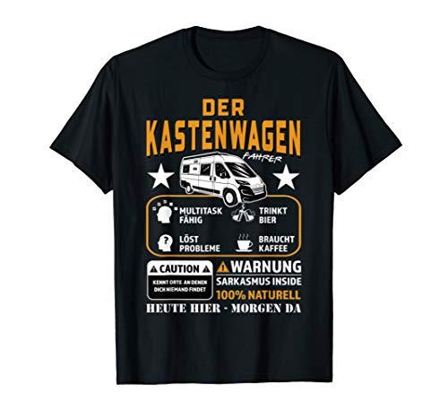 Kastenwagen Der Fahrer Tshirt