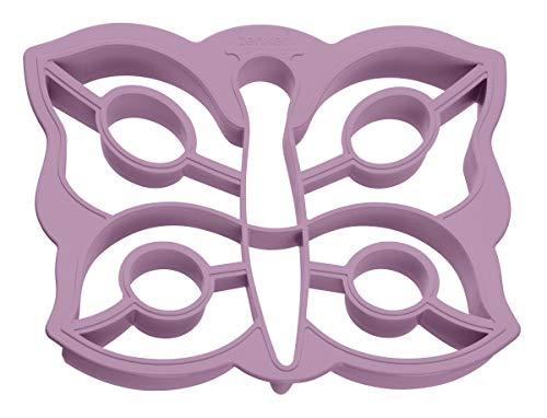 Zeller 44832 Emporte-pièces Puzzle Papillon 15,72x13,51x2,28cm en HDPE, Plastique, Rose, 72 x 8,5 x 1,7 cm