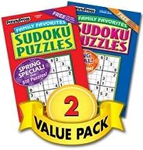 Family Favorites Sudoku Volumes - 2 Pack