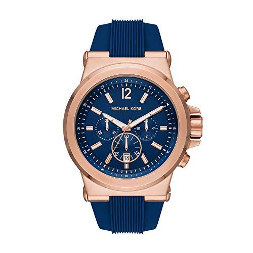 Michael Kors - Reloj de Cuarzo de Silicona para Hombre MK8809